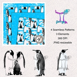 Penguins Saamless Design
